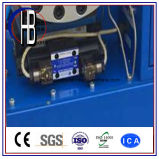 Máquina de friso da mangueira hidráulica padrão da exportação