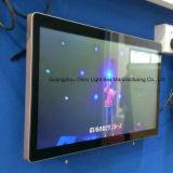 piso 55inch que coloca la señalización del LCD de la pantalla táctil de HD