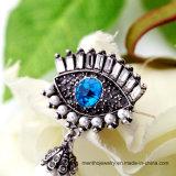 La lega di modo Eyes i monili Pendant del Brooch delle donne di Brotheroch della perla di stile