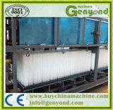Bloco de gelo industrial da qualidade superior que faz a máquina