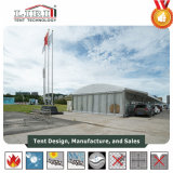 Tenda foranea di alluminio di cerimonia nuziale dell'arco del tessuto del PVC del blocco per grafici con il sistema di CA