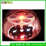 Ratatable 눈송이 나비 크리스마스 파티 마술 공 단계 빛 LED
