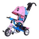 Le tricycle d'enfants de bâti en acier fait du vélo le tricycle