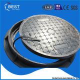 En124 B125 China Lieferanten-septisches Becken-Einsteigeloch-Deckel-Gummigewicht