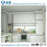 12 Jahre Fabrik-Angebot Acryl-MDF-Tür-Küche-Schrank-