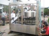 Завалка полноавтоматического сока бутылки горячая с машиной запечатывания алюминиевой фольги