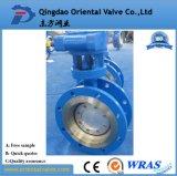 Dn400 Precision Válvula Borboleta Wafer de alta qualidade com o preço