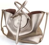 Retro Bucket Fashion Shopping Lady Handbag (LY0037)