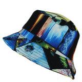 ハワイカスタムパターン多彩な日曜日の保護バケツの帽子
