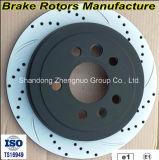 Certificats Ts16949 et certificats SGS homologués Disques de frein pour voiture