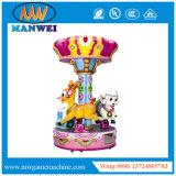 Het openlucht Gebruikte Vermaak berijdt de Muntstuk In werking gestelde Carrousel van de Rit van Kiddie van de Arcade van de Rit van het Paard voor Verkoop