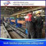 Stahlmetallherstellung-Plasma-Scherblock-Maschinerie CNC-Rohr-Profil-Ausschnitt-Maschine Kr-Xf8