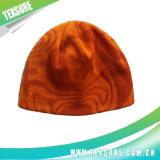 Mélange de couleur à rayures Beanie Hat/bouchons d'hiver en bonneterie (031)