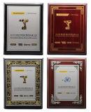Hoogste Plastic Deksel PVC/PP/Pet met het Gouden Stempelen