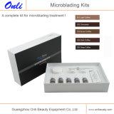Microblading Kits para Maquillaje Permanet Belleza de cejas Manual Pen Kits Microblading Pigment