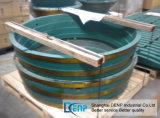 Trazador de líneas de las piezas/tazón de fuente de la trituradora del cono de Metso