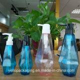 Diamant-Form-Haar-Shampoo-Flaschen-Wäscherei-Lösungs-Flaschen-Plastikflasche