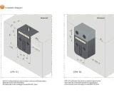 Contador elétrico plástico de 7 Digitas da modelagem por injeção