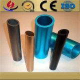 Fertigung 6061/6063/6082 T5 anodisiertes silbernes rundes Aluminiumrohr/Gefäße