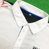 Рубашки гольфа пола оптовой продажи печати цифров печатание экрана Healong