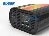 visor digital inteligente Suoer 10A 12V Modo de Carregamento de três fases (SON-20) do carregador da bateria