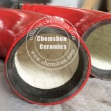 Tubo alineado de cerámica resistente de alta temperatura Australia