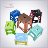 Capretti Foldable Stool, Plastic Folding Step Stool per Outdoor Camping