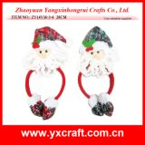 크리스마스 훈장 (ZY14Y23-3-4 24CM) 시동 크리스마스 산타클로스 중국 직물