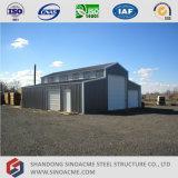 Almacenaje prefabricado del granero de la estructura de acero