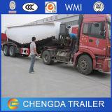 3 reboque maioria do caminhão do portador do petroleiro do pó do cimento do eixo 35m3
