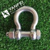 索具のハードウェアのステンレス鋼私達タイプ弓手錠