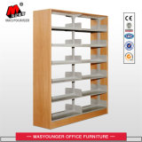 Single Unit Metal Bookshelf Double Face School Estante de livros