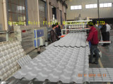 Cadena de producción esmaltada PVC de la azotea de la onda línea de la protuberancia
