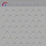 Plaque Checkered en acier galvanisée plongée chaude de qualité principale