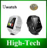 Bluetooth Smart Watch-polshorloge U8 Watch voor iPhone 4 4s 5 5 5 s Samsung S4 Opmerking 2 Opmerking 3 HTC Android Telefoon