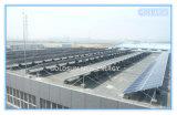 Proyecto de la estación de la generación de energía solar