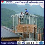 차 포트를 가진 인도 경제 Prefabricated 집