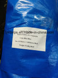 Tissu de tissu en tissu HDPE, couverture de bâche en PVC LDPE revêtue de PE