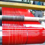 De kleur bedekte de Gegalvaniseerde Rol van het Staal van het Staal PPGI met een laag