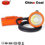 재충전용 LED 코드가 없는 지하 광업 모자 램프