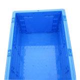 Tipo Stackable plástico caixas das caixas & dos escaninhos de armazenamento da grande capacidade para o uso de empacotamento