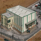 大きいスパンのプレハブの構造スチールの研修会