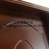 Diacount Design mais recente HDF Solid Wood Interior House Room Door