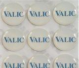 Ярлык стикера эпоксидной смолы круглой формы с по-разному цветами