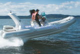 Hypalon / PVC inflable costilla Barco (RIB580)