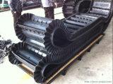Banda transportadora de goma resistente producida fábrica