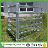 Panneaux galvanisés plongés chauds résistants de yard de bétail
