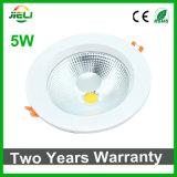 良質5W AC85-265Vの穂軸LED Downlight