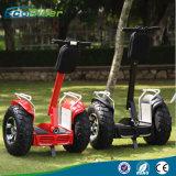 Großhandelsroller chinaelektrischer der Chariot-Doppelt-Batterie-1266wh 72V 4000W E 21 Zoll-fetter Gummireifen-Mobilitäts-Roller