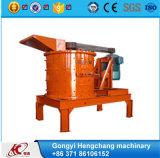 Máquina composta de vidro vertical eficiente elevada do triturador